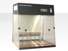 Contamination-free reaction setup cabinet