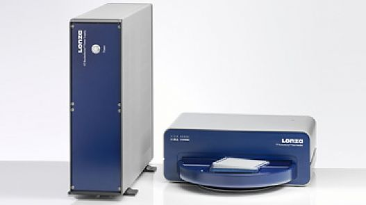 The independent HT Nucleofector™ System (384-well) for high-throughput transfection